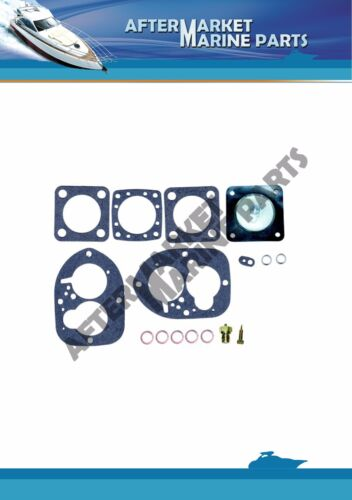 Volvo Penta carburator repair AQ115 AQ125 AQ130 AQ131 RO 856472 SOLEX 44 PA-1