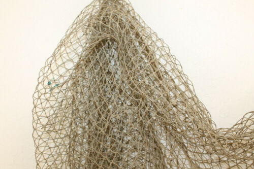 10x10 Authentic Used Fishing Net Old Vintage Fish Netting Nautical Decor Party
