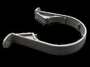 "3/"" 82mm Soil Pipe Clip Grey Saddle Clip Bracket Polypipe SC33"