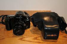 Minolta Maxxum 800si SLR Film Camera With Minolta AF 35-70mm Lens & Case Japan..