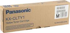 original Panasonic KX-CLTY1B Toner für KX-CL500 Serien Yellow Gelb A-Ware