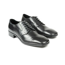 Prada Black Leather Men's black leather dress Shoe Size prada 7.5 us 8.5 NE