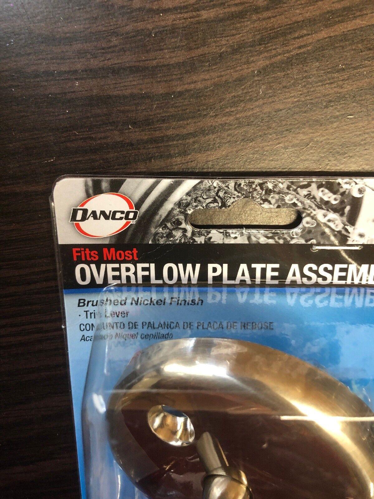 DANCO COMPANY 89231 Tub Overflow Plate//Lever