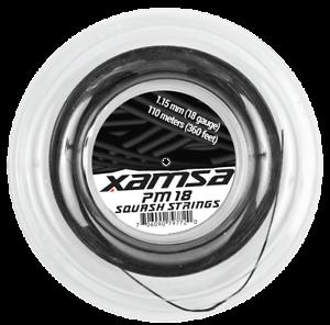 Xamsa PM 18 Squash Strings 110 m Reel