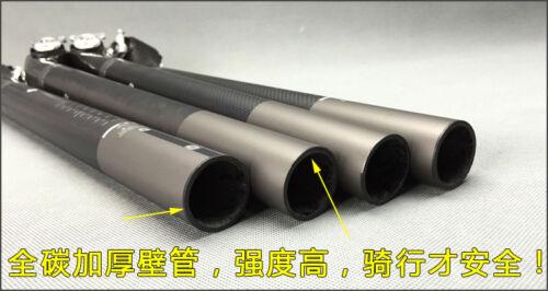 TOSEEK 5° 20° Carbon Fiber MTB Bike Road Bicycle Seatpost 27.2//30.8//31.6 X 400mm