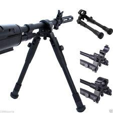 "Adjustable 9"" to 11"" Barrel Mounted clamp-on Foldable Hunting Bipod for Rifle"