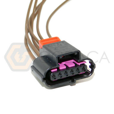 1x Connector 3-way 3 pin for Speed Sensor 1J0 973 723 G