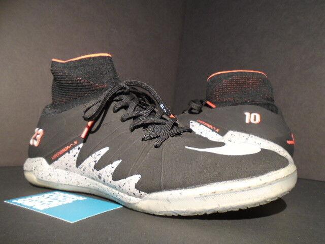 Nike IC hypervenom x proximo NJR IC Nike Neymar cemento negro blanco plata rojo fuego 9,5 209b71