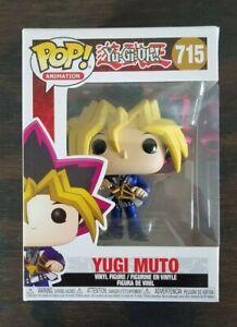 Vinyl Figure NEW /& IN STOCK UK Funko Pop Yu-Gi-Oh YUGI MUTOU #715 Pop