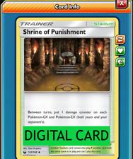 Pokemon PTCGO Shrine of Punishment 143//168 Online Trainer Card Sent Fast In-Game
