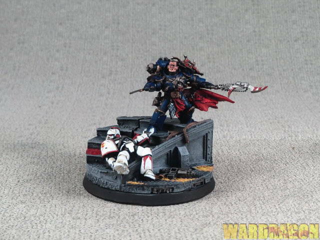 25mm Forgeworld WDS painted SEVATAR, FIRST CAPTAIN OF THE  NIGHT LORDS m89  vendita online