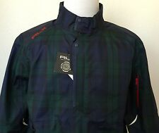 NWT Ralph Lauren RLX Golf Deluge Anorak Tartan Windbreaker Jacket Men's XL $497