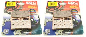 2 Packs - Enough for 2 Rotors EBC Double-H Sintered Metal Brake Pads FA335HH