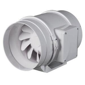 rohrl fter rohrventilator diagonall fter ventilator l fter mit timer dalap ebay. Black Bedroom Furniture Sets. Home Design Ideas