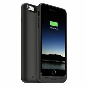 Mophie Juice Pack Battery Case for iPhone 6+/6s+ Black or Rose Gold