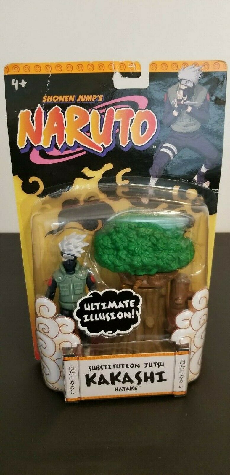 Naruto Kakashi Hatake Ultimate Illusion Mattel Rare  New