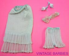 Barbie Doll Fashion PAK Blue Lovely Lingerie Set  ~ Vintage 1960's
