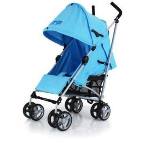 Passeggino Buggy Ultraleggero Zeta Vooom Blu Parapioggia Inclusivo
