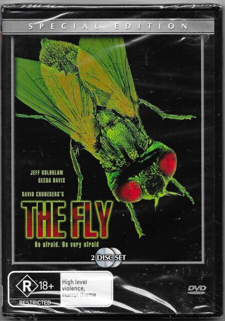 The Fly (DVD, 2006, 2-Disc Set) New(Jeff Goldblum,Geena Davis)Region 4 Free Post