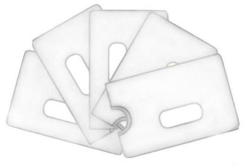 BANKKARTENHÜLLE 10 x Transparent  KREDITKARTENHÜLLE SCHECKKARTENHÜLLE