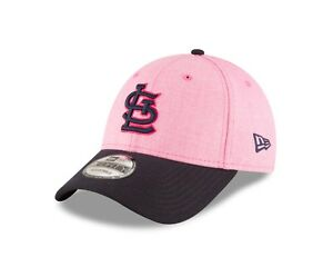 newest 76ae4 5011f Image is loading St-Louis-Cardinals-New-Era-Pink-Navy-2018-