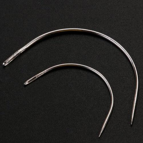 10pcs Leather Sewing Needles Stitching Needles Kit Thread Thimbles ShoesYRDE