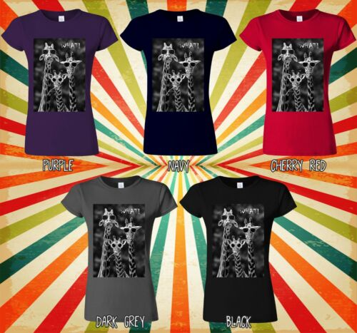 Cool Girafes Nerd Cool que Nouveauté Hommes Femmes Débardeur Tank Top Unisexe T Shirt 1499