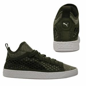 Puma-Basket-NETFIT-Classique-Mi-Homme-a-Lacets-Baskets-Textile-Chaussures-364249-03-B3B