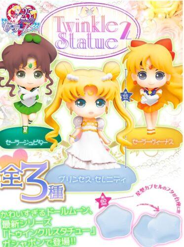 Bandai Sailor Moon Figure Twinkle Statue2 Set Mars Jupiter Princess Serenity