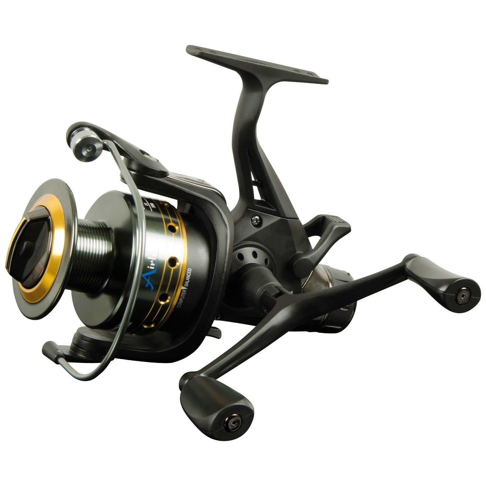 Carp Pro Lite Free Spool Reel with Balanced Double Handle
