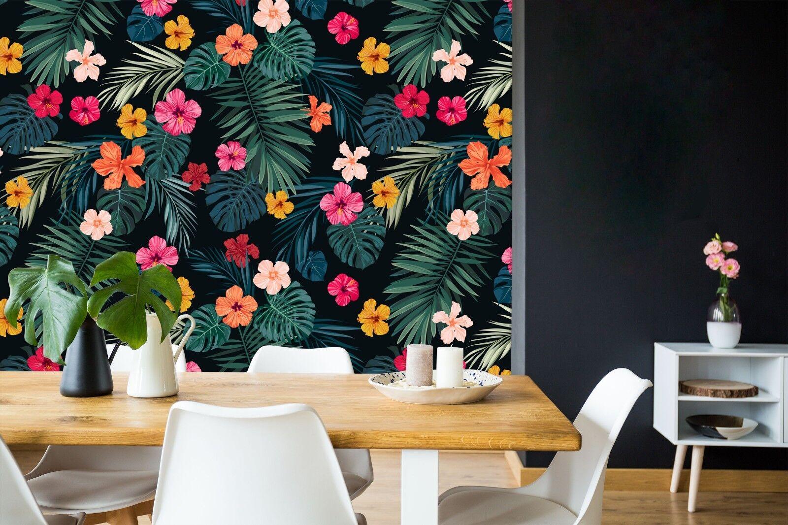 3D Farbe Petal Paint 26 WallPaper Murals Wall Decal WallPaper AU Summer