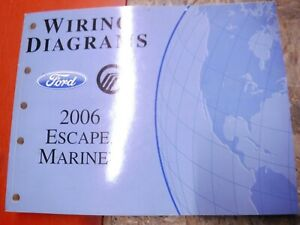 2006 FORD ESCAPE MERCURY MARINER FACTORY WIRING DIAGRAMS ...