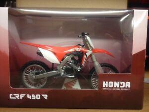 Coffret-cadeau-2018-HONDA-CRF-450R-Diecast-Modele-Motocross-Velo-Jouet-Cadeau-echelle-1-12