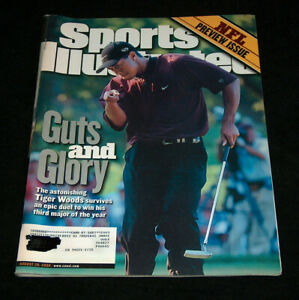 Sports Illustrated Magazine August 28 2000 Tiger Woods Wins Third Major Of Year
