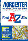 Worcester Street Atlas by Geographers' A-Z Map Company (Paperback, 2011)