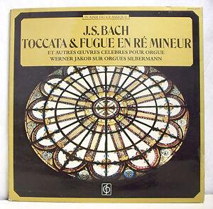 33T-J-S-BACH-JAKOB-Vinyl-LP-12-034-Silbermann-Organ-TOCCATA-FUGUE-IN-RE-MINOR