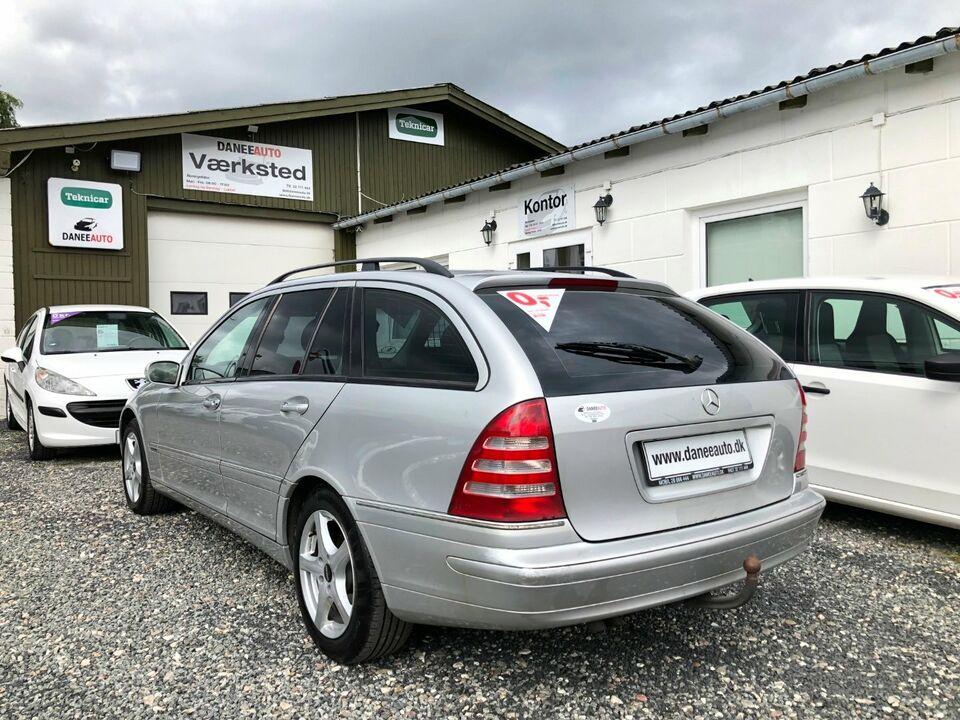 Mercedes C200 2,2 CDi Avantgarde stc. Diesel modelår 2002