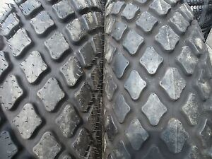TWO-13-6x28-6-ply-R3-John-Deere-Tubeless-Farm-Tractor-Turf-Tires