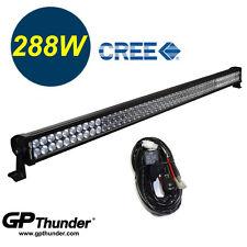 GP Thunder 50 inch 6000K Off Road 288W CREE LED Fog Lamp Light Bar Jeep Relay