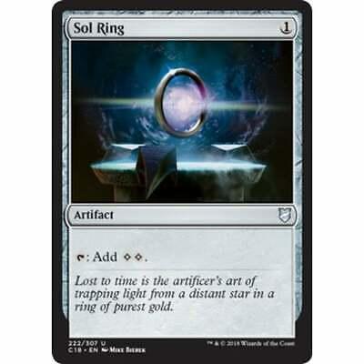NearMint Sol Ring ~ Commander 2018 Magic MTG