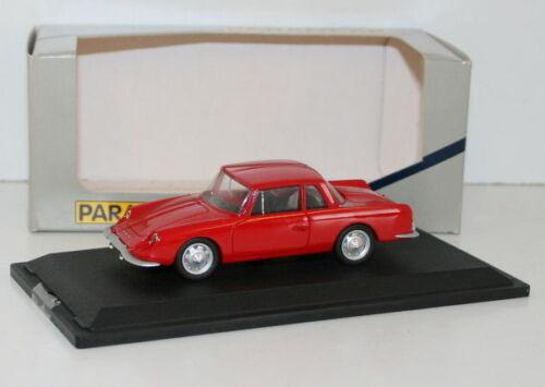 Modèle Rouge Paradcar Résine En 1 Gt4 43 072 Renault Alpine 2 vxPxSfWRn