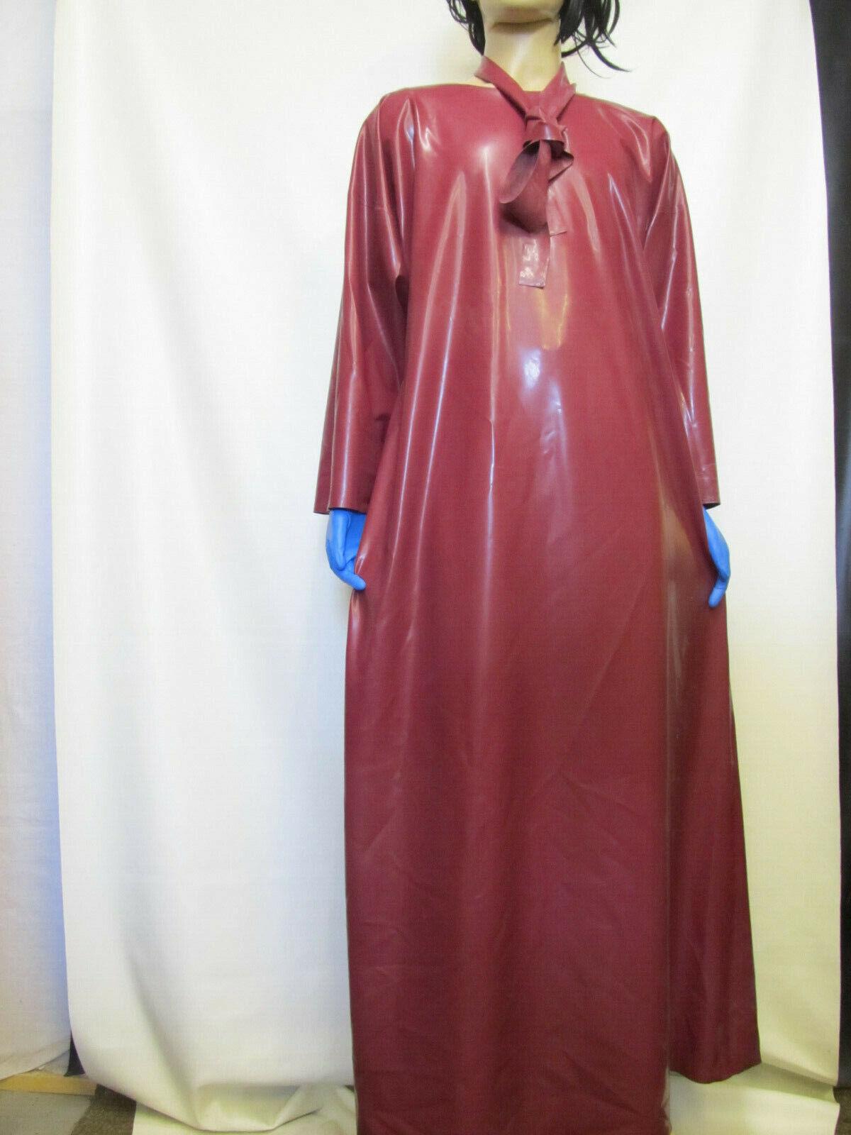 BBW-Latexkleid,Kleid,Umhang,Gummikleid,Regenumhang,Regenkleid,Pflaume,   Bekannt für seine schöne Qualität        Online Shop    Schöne Farbe  483fc3