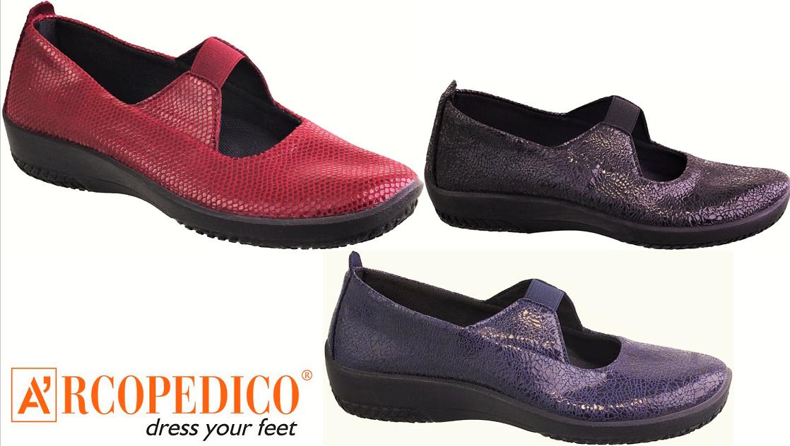 Arcopedico shoes Portugal  Leina Slip on comfort lytech shoes