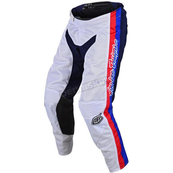 pantaloni motocross enduro GP Air Premix 86 Troy Lee Designs TLD 20496400 bianco