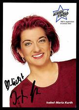 Isabel Maria Kurth Autogrammkarte Original Signiert ## BC G 9968