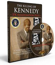 Killing Kennedy: Warren Report & Commission Hearings JFK Assassination New DVD