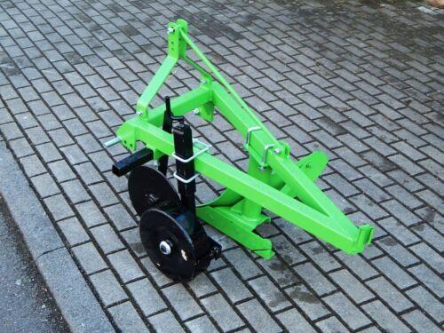Einschar Pflug Beetpflug Ackerpflug mit Scheibenechse Traktor  Kleintraktor