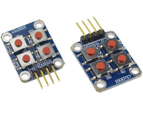 1PCS Matrix 4 Keyboard Board Module 4 Button Tactile Switch For  Arduino