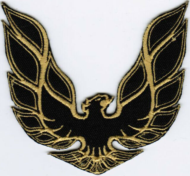 """Pontiac TRANS AM Embroidered Iron-on Patch 3.75/"""""""