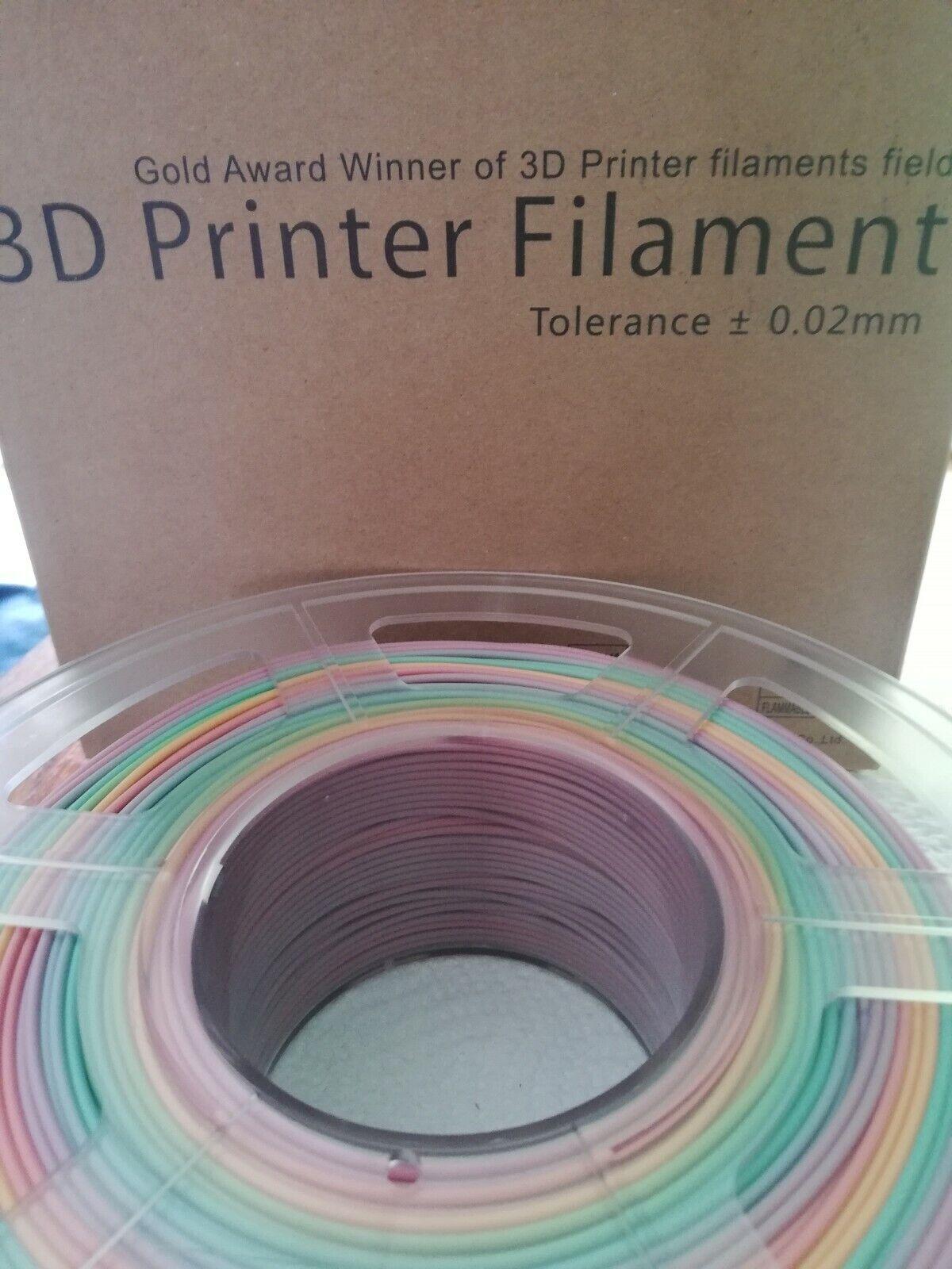 Filament Regenbogen von der Firma Sunlu 1,75 mm für alle PLA Drucker